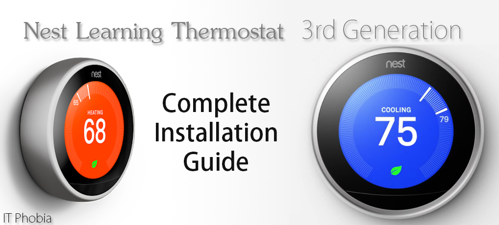 Nest Learning Thermostat 3rd Generation Installation Guide