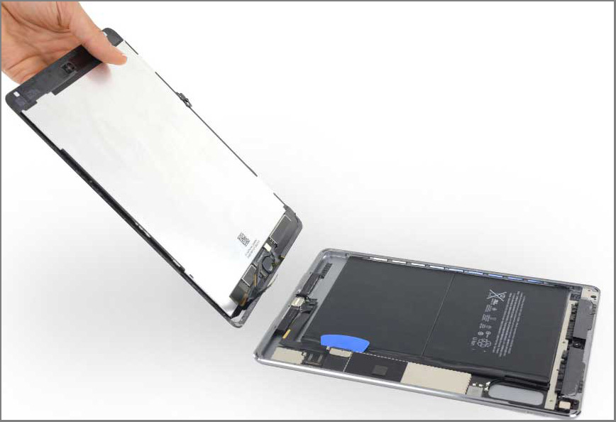 iPad air 2 screen replacement - Step 33 - Separate the front board from the back case