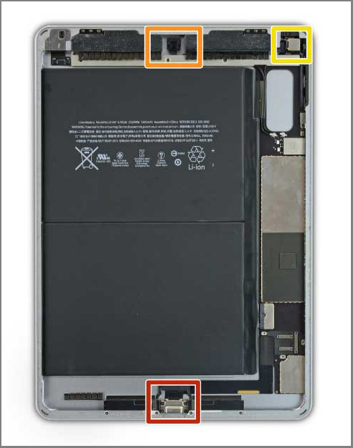 iPad air 2 screen replacement - Step 6 -Avoid Prying