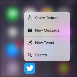How to move apps on iPhone 7 - 3D Touch