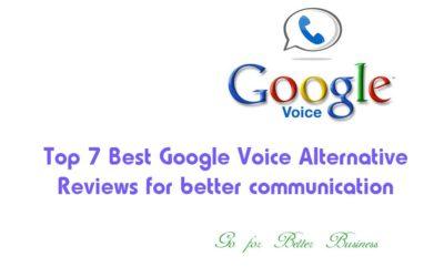 Top 7 Best Google Voice Alternative Reviews for better communication