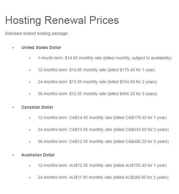 Lunarpages vs FatCow-hosting renewal prices